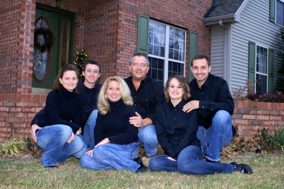 ken & his family
